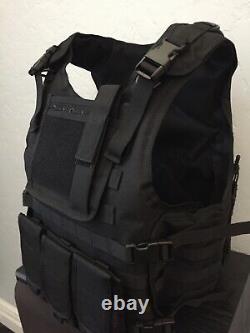 3XL 2XL Xl L Tactical Plate Carrier Bulletproof Inserts 3a Body Armor USA