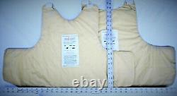 3XL IIIA Lo Vis / Concealable Body Armor Carrier BulletProof Vest with Inserts