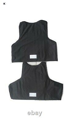 4 Ballistic Plates Inserts Panels Made With Kevlar Bulletproof 2 Sets (4) lllA
