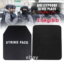 6.5mm Stand Alone Safety Body Armor Steel Anti Ballistic Panel Bulletproof Plate