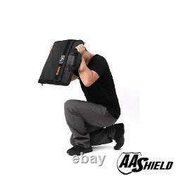 AA Shield Ballistic Briefcase Bulletproof Plate Portfolio IIIA Body Armor Bag