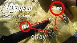 AA Shield BulletProof CIRAS BALCS Vests Body Armor Inserts Plate IIIA 3A Size M