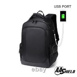 AA Shield Bullet Proof School Bag Ballistic IIIA Plate Body Armor Backpack Black