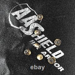 AA Shield Bulletproof Body Armor Hard Plate Light Inserts Lvl IIIA 3A 10x12 Cut