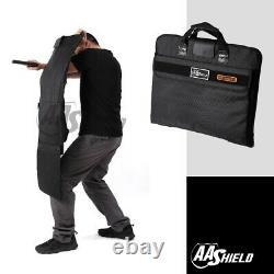 AA Shield Bulletproof Briefcase Ballistic Body Armor Safe Bag NIJ Level IIIA