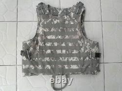 ACU Combat Tactical Soft Bullet proof vest IIIA NIJ0101.06 SizeM