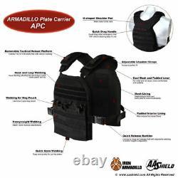 APC Soft Armor Vest Plate Carrier Ballistic Vest Level IIIA Bullet Proof Vest