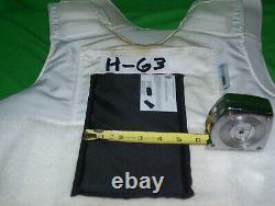 Armor Express Armor Bullet Proof Vest Level IIIA-2X-Large GOOD 2013+5X8 #H-63