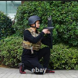 Army Military Tactical Bulletproof Shield Police Riot SWAT Shield Steel Plate
