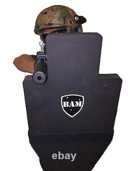 BALLISTIC SHIELD Bullet Proof Body Armor Level III++ L3++ 12x23 STOPS 30-06