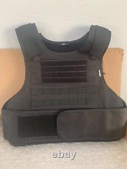 BODY ARMOR Carrier Vest FREE 3a BULLETPROOF Inserts XL 2XL 3XL L USA Made