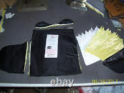 BULLETPROOF, BACK PACK INSERTS 2 Trauma Plates Level IIIA 11X14 Body Armor