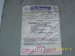 BULLETPROOF Block Spall 2Trauma Plate Level IIIA 11X14 Body Armor Vest #14