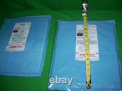 BULLETPROOF Block Spall 2Trauma Plate Level IIIA 11X14 Body Armor Vest ARMOR