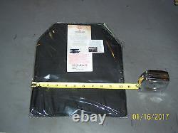 BULLETPROOF Shototers Cut & Spall 2Trauma Plates Level IIIA 10X12 Body Armor