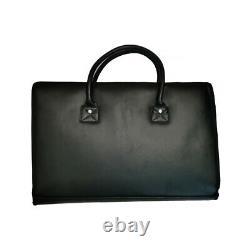 Ballistic Briefcase Bulletproof Portfolio Body Armor Plates Leather Bag LVL 3A