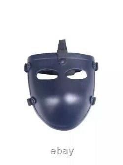 Ballistic Bullet Proof mask 3A level, tactical defense face mask, STOPS. 44 MAG