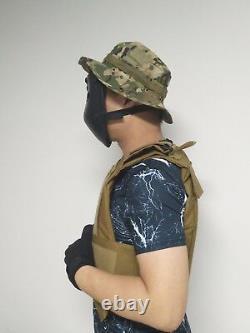 Ballistic Visor Mask Bulletproof Face Shield Aramid Core Lvl IIIA Self Defense