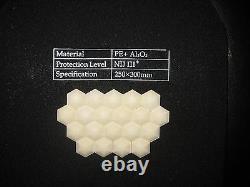 Black Python pattern Soft Bullet proof vest IIIA +2PCS III ceramic plates