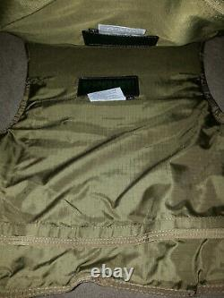 Blackhawk tactical IIIA body armor plate carrier bulletproof vest MED! TAN