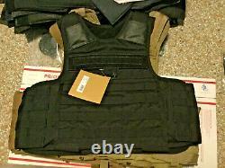 Blackhawk tactical IIIA body armor plate carrier bulletproof vest X-SMALL