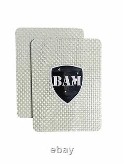 Body Armor Bullet Proof Plates ArmorCore Level IIIA+ 3A+ 10x12 6x8 Bundle