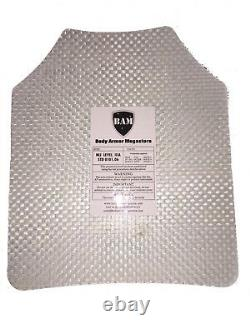 Body Armor Bullet Proof Plates ArmorCore Level IIIA+ 3A+ 11x14 6x8 Bundle