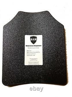 Body Armor Bullet Proof Vest AR500 Steel Plates Base Coating Plate Carrier