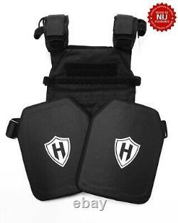 Body Armor, Level 3+ emergency response bulletproof kit, lab tested & test video
