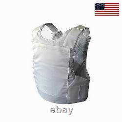 Brand New Concealable Bulletproof Vest Stabproof Body Armor NIJ 3A Large