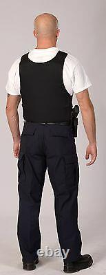 Brand new Concealable with Kevlar Bulletproof Vest Body Armor NIJ IIIA S