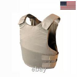 Brand new Concealable with Kevlar Bulletproof Vest Body Armor NIJ IIIA XS