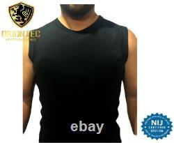 Bullet Proof UDPE Protection Level NIJ-IIIA Super Ultra Thin discreet T-Shirt