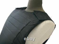 Bullet Proof Vest Body Armor level IIIA 3A with Ceramic Ballistic Plate ROBO