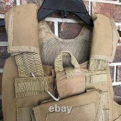 Bullet Proof Vest Taupe Beige Multi Plate