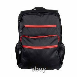 Bulletproof Backpack GuardianPack Black Front & Back Panel NcSTAR Ballistic Soft