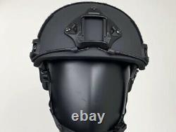 Bulletproof Ballistic Helmet Black Large Level 3a