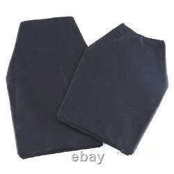 Bulletproof Concealable Body Armor Ultra Thin made with Kevlar T-shirt NIJ IIIA