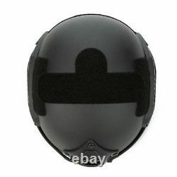 Bulletproof Helmet Military Level IIIA FAST BLACK Ballistic Helmet Large USA
