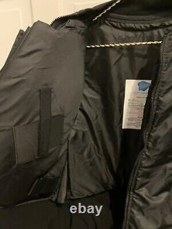 Bulletproof NIJ Level III-A 3A Flight Pilot Jacket Israel Body Armor Vest Small