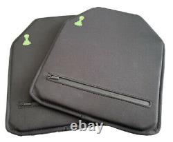Bulletproof Plates Pawn Armor 11 X 14 Soft Ultralight UHMWPE Level IIIA (Set)