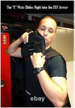 Bulletproof Tshirt Style level 3-A Vest Made with Aramid Fabric Size XLarge