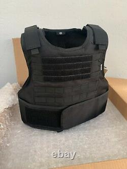 Concealable Bulletproof Vest Carrier BODY Armor Made With Kevlar 3a M-XL 2xl 3XL