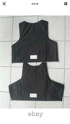 Concealable Bulletproof Vest Carrier BODY Armor Made With Kevlar 3a Xl M 2xl 3xl