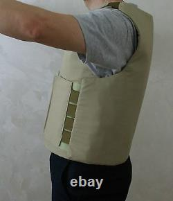 Concealed carry bullet proof VEST made with KEVLAR Body Armor IIIA