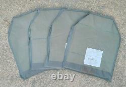 DBT Level IIIA 11x14 Back Pack / Plate Carrier / Bullet Proof Vest Armor Panel