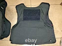 FEMALE MEDIUM Body Armor Bullet Proof Vest With Plates / panels level II 87