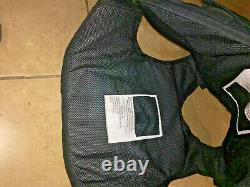 FEMALE medium Body Armor Bullet Proof Vest With Plates / panels level II #17