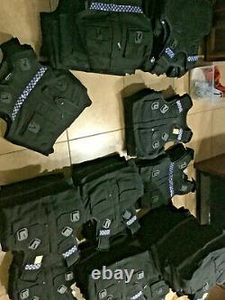First Responders Hi visibility bulletproof vest body armor lvl II vest (Small)