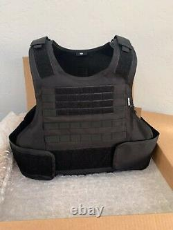 Fits aR500 BULLETPROOF Carrier Tactical Vest Made With Kevlar Plates 3a Inserts